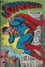 SUPERMAN POCHE N°25 . SAGÉDITION . 1979 .