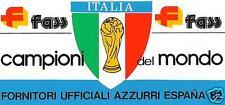 """ADESIVO NUOVO """"ITALIA CAMPIONI DEL MONDO"""" SPAGNA 1982 VINTAGE ANNI 80 ESPANA"""