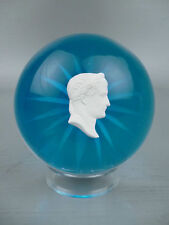 Antique French Sulphide Paperweight Napoleon Caesar likely Clichy GL