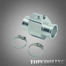 32MM Aluminum Water Temp Gauge Radiator Hose Adapter Joint Pipe Sensor