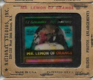 Mr. Lemon of Orange 1931 Vintage Glass Slide El Brendel Fifi D'Orsay
