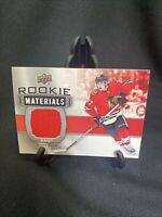 Kirby Dach 2019-20 Upper Deck Rookie Materials Jersey RC BLACKHAWKS