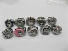 10X New Assorted Jewelry Finger Ring Time Watch