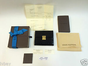 New Boxed Louis Vuitton Alligator PF Koala Croco Noir B Purse N90533 Receipt