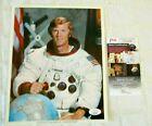 NASA ASTRONAUT APOLLO 9- RUSSELL SCHWEICKART- SIGNED AUTOGRAPH PHOTO-JSA CERT