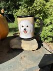 Bichon frise Coffee Mug With Great Wording On One Side And Picture The Other