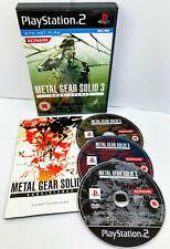 Metal Gear Solid 3: Reise-Sony Playstation 2 komplett Spiel (ps2) (2006)