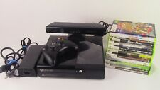 Microsoft Xbox 360 E 4GB  Black Console With Kinect, Controller, 10 Games