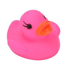 PLD Flashing Light rubber floating Duck PLth Bath Tub Shower Toy for Kids Toy PL