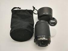 Obiettivo Nikon AFS 55 200 mm VR f 4 5.6 ED DX