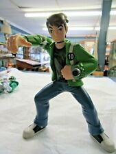 "Rare Ben 10 Action Figure. Green Jacket Blue Jeans. 5"""
