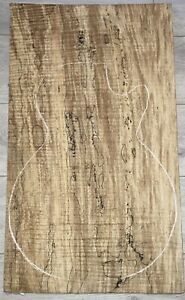 luthier tonewood-Spalted Maple-single Piece-Naturally Dried Over 10 Years.