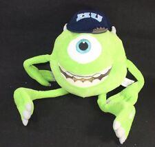 "DISNEY PIXAR MONSTERS INC UNIVERSITY 24"" Plush Green MIKE WAZOWSKI  MU Hat Cap"