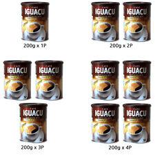 200g Cafe Iguacu Tradicional Spray Dried Instant Coffee Cremoso Brazil Brewed