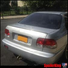Rear Trunk Lip Spoiler Wing (Fits: Honda Civic 1996-00 4dr) 244L SpoilerKing