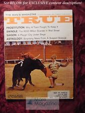 TRUE November 1965 Nov 65 BULLFIGHTING EL CORDOBES ARTHUR HERZOG