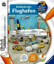 Ravensburger Tiptoi ® Buch Entdecken den Flughafe Wieso? Weshalb? Warum? Neu&Ovp