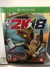 NBA 2K18 Legend Edition Gold for Xbox One - 250,000 VC  SHAQ CARDS POSTER NEW