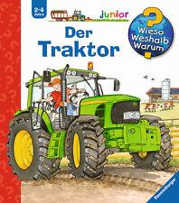 Wieso Weshalb Warum Junior Der Traktor 2-4 Jahre Ravensburger + BONUS