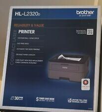 BrandNew Brother HL-L2320D Mono Laser Printer 2320d l2320d factory Sealed