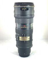 Nikon AF-S 70-200mm f/2.8 G VR ED Telephoto Zoom Lens - Boxed - JS 049