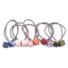 Korea Style Rope Head Rope Metal Hair Treeleaf Elastic Hairrope Rubberband YG
