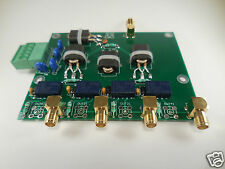 4-way terminated RF splitter for HF RX antenna/SDR