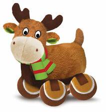 KONG CHRISTMAS REINDEER LARGE TENNIS SHOES DOG TOY PLUSH SQUEAK TOY GIFT IDEA