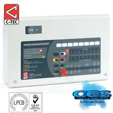 C-TEC CFP704E-4 4 ZONE CONVENTIONAL FIRE ALARM ECONOMY PANEL - FREE POSTAGE
