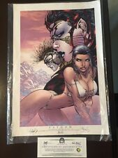 Fathom Michael Turners Crossover Your Book Vol. 1 Limited Ed. Signed W/ Coa