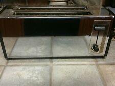 Vintage Sunbeam 2 slot Thinline Toaster Chrome long slot Model 20-510