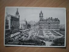 POSTCARD - PRINCES STREET, EAST END, EDINBURGH - VALENTINES