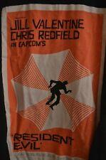 "Jill Valentine Chris Redfield Capcom's Resident Evil ""Movie Poster"" Shirt Small"