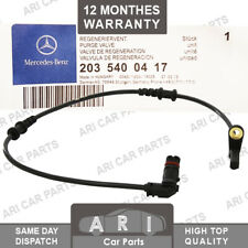 Genuine ABS SPEED SENSOR for MERCEDES-BENZ C-CLASS CLC-CLASS CLK SLK Front