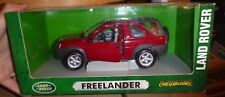 Land Rover FREELANDER ERTL COLLECTIBLES SCALA 1:18 rosso red with box