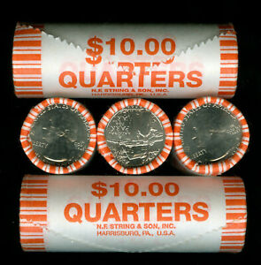 2020-W ENDER ROLL WEIR FARM QUARTER 40 COIN ROLL GEM BU WEIR W ENDER *