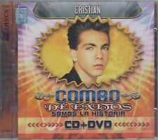 CD/DVD - Cristian Castro NEW De Exitos Somos La Historia FAST SHIPPING !