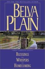 Belva Plain, Three Complete Novels : Blessings, Whispers, and Homecoming