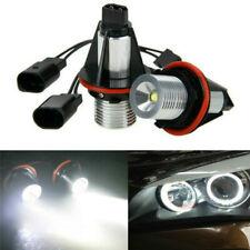 2PC White Angel Eyes Halo LED Light Bulbs No Error For BMW E60 525i 530i M5 E61