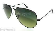 Authentic RAY-BAN Polarized Black Aviator Sunglass RB 3025 - 002/76 *NEW* 58mm