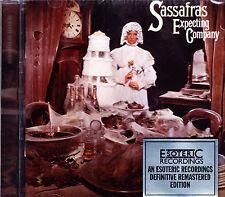 Sassafras expecting Company (1973) Remastered + 2 bonus TR. Esoteric CD NUOVO OVP