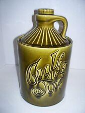 Green Cookie Jug Cookie Jar Crock