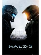 "HALO 5 GUARDIANS POSTER ""LICENSED"" BRAND NEW ""LARGE SIZE 61cm X 91.5cm"""