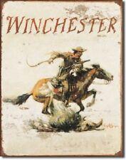 New Winchester Logo Decorative Metal Tin Sign