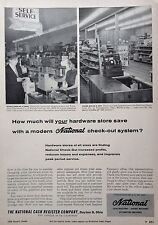 1956 AD(G12)~NATIONAL CASH REGISTER CO. DAYTON, OHIO. AT LOCAL HARDWARE STORES