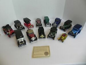 Lot of 13 Cars 1/32 Die Cast National Motor Museum Mint