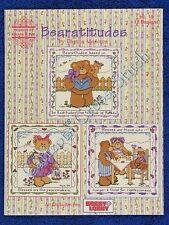 Cross Stitch Pattern Bearatitudes Teddy Bear Beatitudes