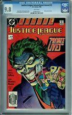 JUSTICE LEAGUE INTERNATIONAL ANNUAL 2 CGC 9.8 WP HTFHG JOKER DC Comics 1988