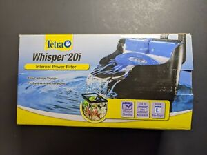 Tetra Whisper Internal Filter 10 To 20 Gallons For aquariums In-Tank Filtrati...