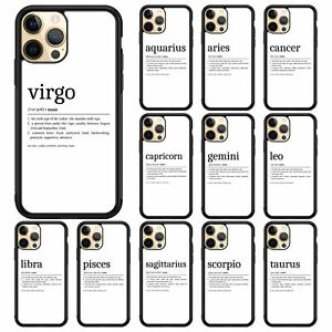 PHONE CASE FOR ALL IPHONE ZODIAC SIGNS HOROSCOPE ASTRONOMY SYMBOLS COVER GIFT